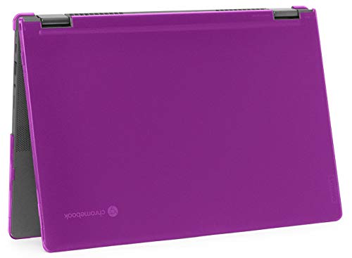 "mCover Hard Shell Case for 2020 Lenovo Chromebook Flex 5 (13"") 2 in 1 Laptop (Not fit Any other laptop) (13 Inch Chromebook Flex 5 2 in 1, Purple)"