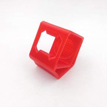 BouBou Uruav 30 ° TPU Kamerahalterung Sitzschutzhülle 3D Gedruckt Für Foxeer Box 2 FPV Kamera - rot