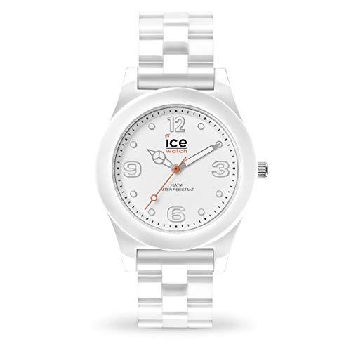Ice-Watch - Ice Slim White - Orologio Bianco Unisex con Cinturino in Plastica - 015776 (Medium)