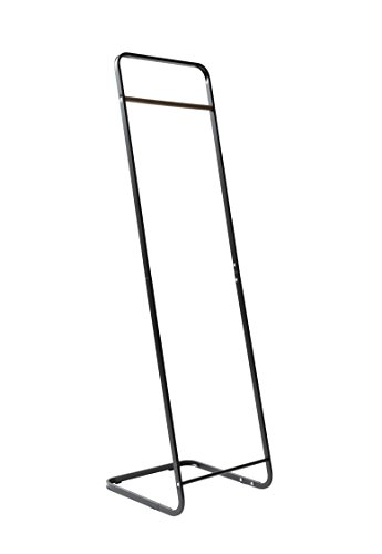 Color Negro 40/x 140/cm Iron Tubes with Powder Coating Compactor Noir Rangement /& CIE RAN7658-/Perchero de Acero Inoxidable No No Applicable