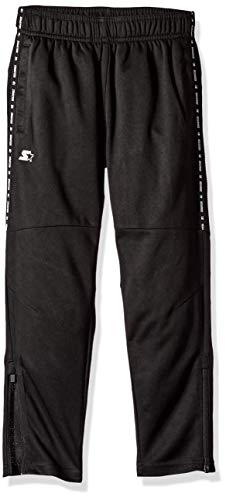Starter Girls' Soccer Pants, Amazon Exclusive, Black, M (7/8)
