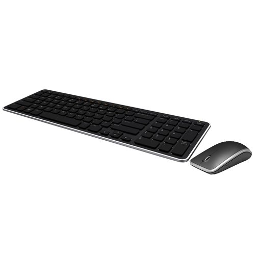 Dell KM714 Wireless Mouse/Keyboard (5HT18), Black