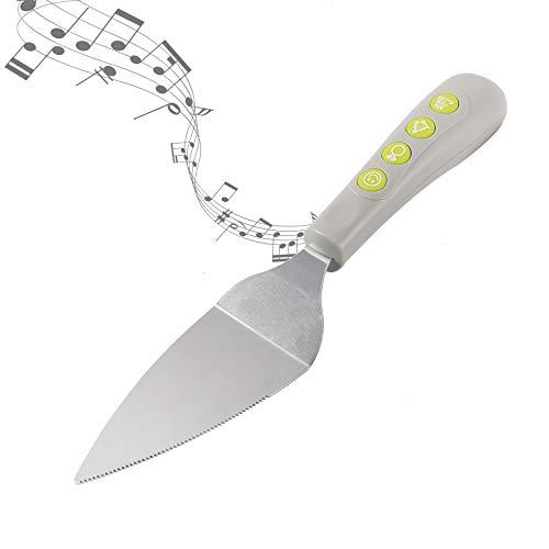 I-Total - XL1906 - Pala Musical para Pasteles , Cortador de Pasteles Tarta con Música, 4 Canciones