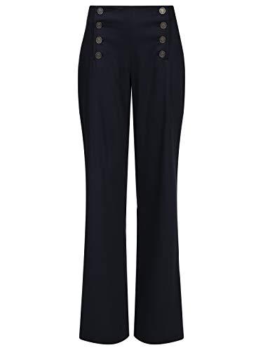 Pussy Deluxe Sweet Anchors Pants Damen Hose blau, Größe:S