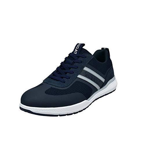 bugatti Herren 322981016900 Sneaker, Dark Blue, 42 EU