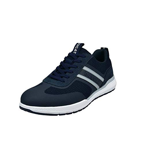 bugatti Herren 322981016900 Sneaker, dark blue, 43 EU