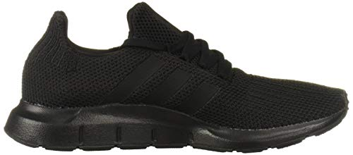 adidas Originals Men's Swift Run Sneaker, Black/Black, 9.5 M US 3