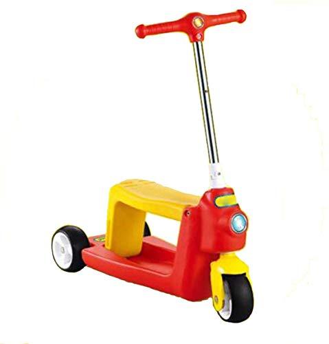 HFJKD Kinder driewieler Scooter Fiets Buiten Kinderen Driewielers Baby Combo Loopfiets Scooters Walker