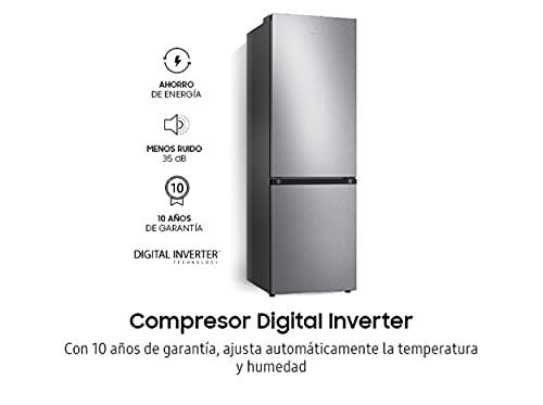 Samsung Elettrodomestici RB34T602DSA/EF Frigorifero Combinato RB7300T, 340 L, Silver Inox