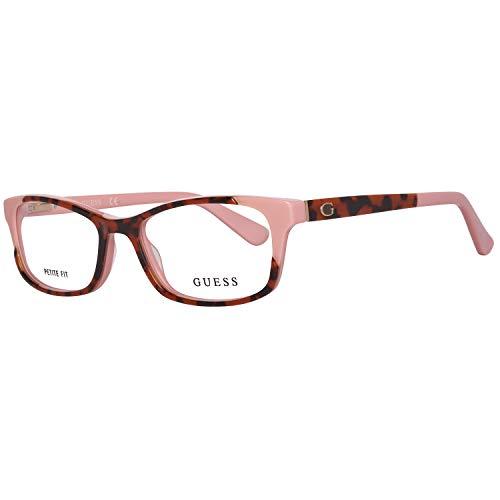 Guess  GU2616 50074 Guess Brille Gu2616 50074 Rechteckig  Brillengestelle 50, Rot