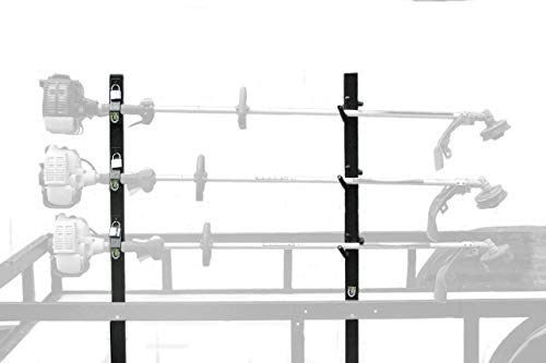 Pack'em Lockable 3 Place Trimmer Rack for Open Trailers