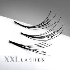 200 des Cils Flare Lashes avec noeud, dans en recharge à un prix abordable, long Size Longueur: 13 mm