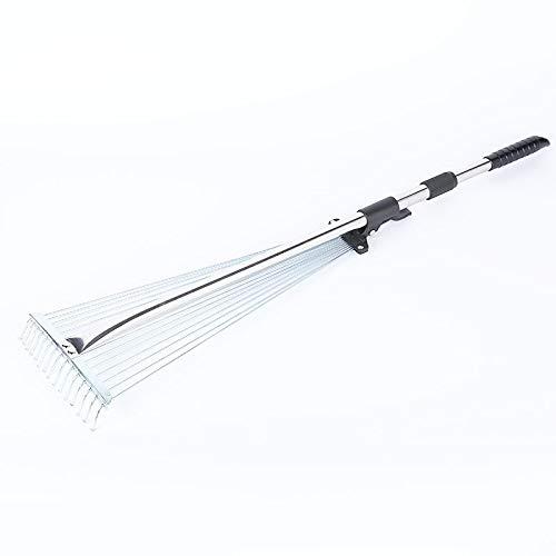 Hovico Telescopic Rake Handle with Adjustable 8-23 Inch...