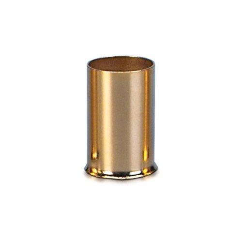 Sinuslive 25mm² Aderendhülsen 8 Stück vergoldet AE-25 Kabel Endhülsen