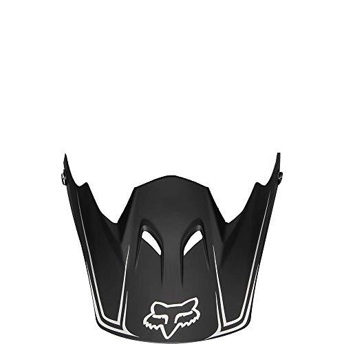 Fox 03285 Visière de rechange pour casque Rampage, Homme, 03285, Noir mat, One Size