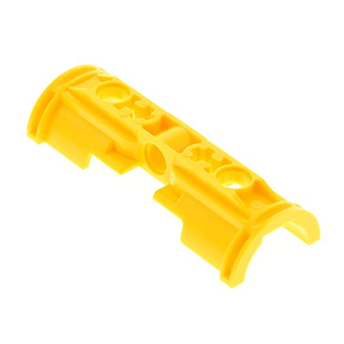 1 x Lego Pneumatic Zylinder Halter gelb eine Hälfte Technic Halterung Pneumatik Set 8421 8275 53178