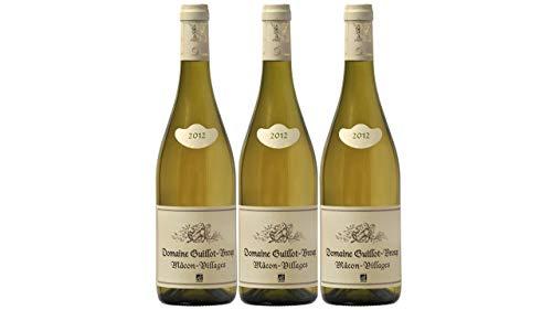 Macon Villages Domaine Guillot Broux Bio 2012, Grand Vin Blanc de Bourgogne - 3 x 75 cl