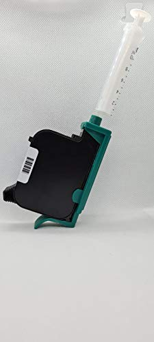 HP45 (51645A) Nachfüllclip + 100ml Dr.Inkjet Schwarze Nachfülltinte (ohne Patrone) für HP Tintenstrahldrucker