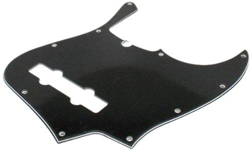 Fender 006-3313-000 3-Ply Negro 10-agujero de montaje de 5 cuerdas Jazz Bass golpeador