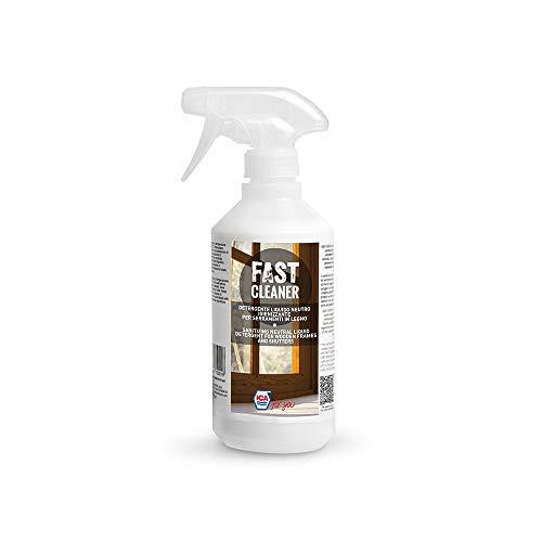 Ica For You FASTCLEANER-0050 Detergente Liquido Neutro per Legno, Trasparente