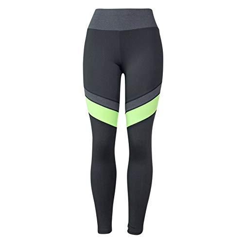 yayay Pantalones de yoga para mujer, cintura alta, levantamiento de caderas, leggings elásticos delgados y pantalones deportivos