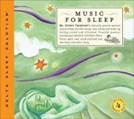 Music For Sleep: Clinically Proven Musical System (4CD Box Set) (Delta Sleep Solutions) by Jeffrey Thompson (2003-09-01)