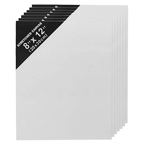Lienzo en Blanco (Pack de 7) (20cm x 30cm) Panel Lienzo para...