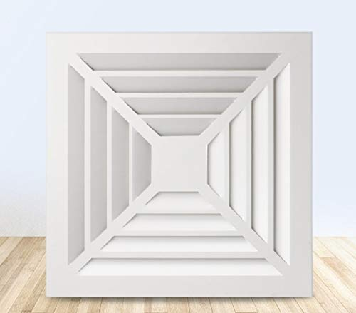 GFDFD Ventilatore di Scarico per Finestra a Muro Bagno Ventilatore di Ventilazione in ABS Cucina Estrattore a soffitto Ventilatore Ventilatore WC Ventilatore Condotto