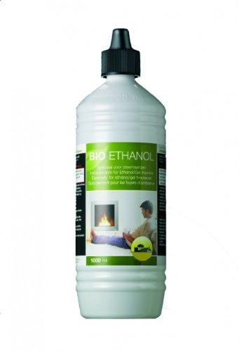 1 Liter Farmlight Bio Ethanol Alkohol für Gelkamin statt Brenngel
