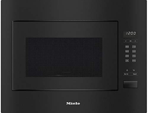 Miele M 2240 SC Einbau-Mikrowelle, 26 l, 900 W, Schwarz