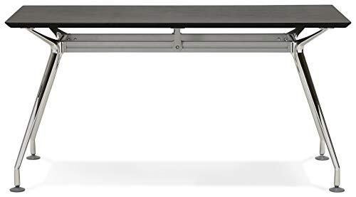 Escritorio Design Krush 150Black 70x 150x 75,3cm)