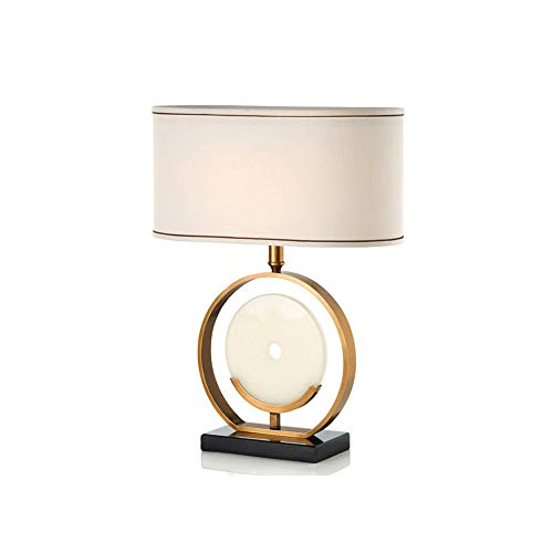 WZHZJ Moderna Moderna Mesa de mármol lámpara Creativa Modelo de Modelado de Noche lámpara de Cama Bola de Cristal lámpara de Mesa Decorativa