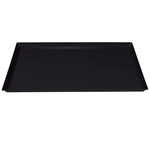 "Pro Select Replacement Trays for Cat Cages - Durable, Easy-to-Clean ABS-Plastic Trays for ProSelect Cat Cages - 35' L x 21½""W x 1⅜'H, Black"