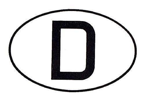 PVC Aufkleber - D - Deutschland - 301000 - Gr. ca. 17,5 x 12 cm