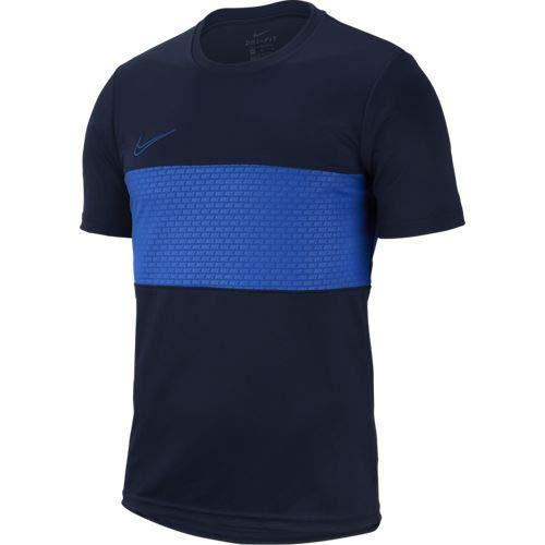 Nike M Nk Dry Acdmy Top SS Gx, Maglietta Uomo, Blu (Obsidian/Game Royal/Game Royal), XL