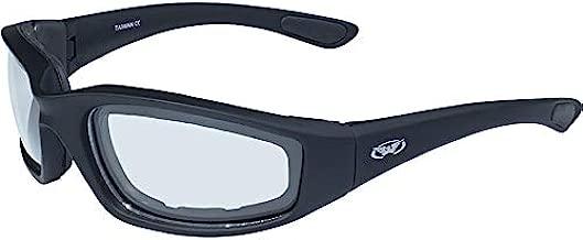Global Vision Eyewear Men's Kickback 24 Sunglasses with Photochromic Color Changing Lenses