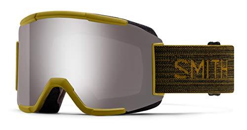 Smith Optics Squad Ski- Snowboardbrille Mystic Green - ChromaPOP Platinum Mirror Sun
