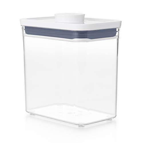Good Grips POP Contenedor – Almacenamiento hermético y apilable de alimentos   1,6 l para bolsitas de té y mucho más