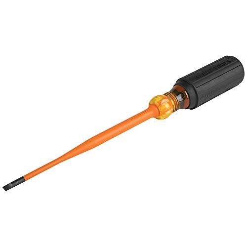 Klein Tools 6916INS 1000V Slim Tip Insulated Screwdriver, 6-Inch Round...