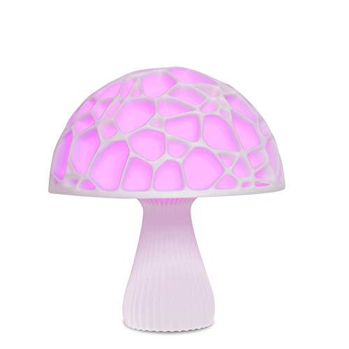 ZHQIC Luz de Seta Impresa en 3D Recargable USB 16 Colores Lámpara de Noche 3D remota para decoración de luz Lámpara Lámpara de Regalo de Escritorio de luz Nocturna