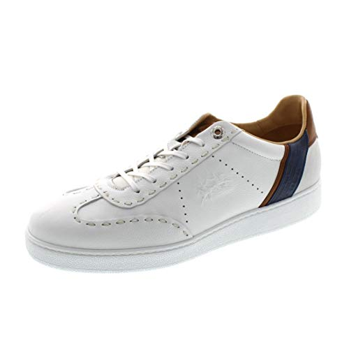 La Martina Schuhe - Sneaker LFM201031 - Bianco, Schuhgröße:41