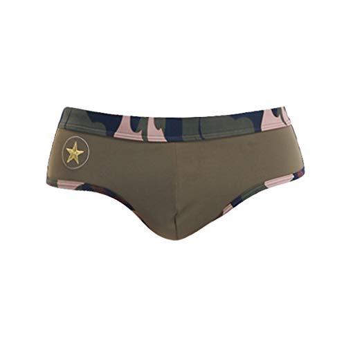 Zolimx Slip Uomo Mutande Uomo,Militares De Los Hombres Costume da Bagno Uomo Swim Shorts, Costumi da Bagno Uomo Medium Drawstring, Costume da Bagno Uomo