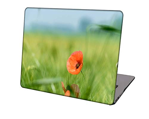 Laptop Case for Newest MacBook Pro 15 inch Model A1707/A1990,Neo-wows Plastic Ultra Slim Light Hard Shell Cover Compatible Macbook Pro 15 inch,Flowers A 0848