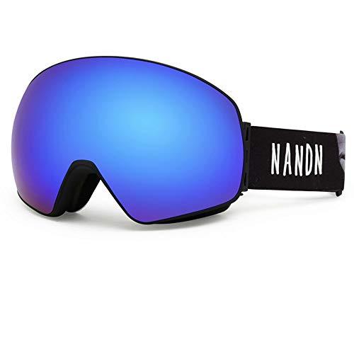 ZCF Ski bril anti-mist dubbele volwassen skibril mannen en vrouwen uitrusting grote bolvormige khika bijziendheid zonnebril mode