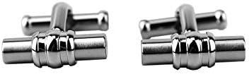 Montblanc Classic Stainless Steel Cufflinks 110672