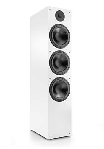 Nubert nuBox 683 Standlautsprecher   Lautsprecher für Stereo & Musikgenuss   Heimkino & HiFi Qualität auf hohem Niveau   Passive Standbox mit 2.5 Wege Technik   Standbox Weiß   1 Stück