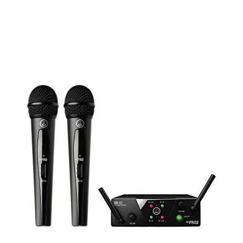AKG Pro Audio WMS40 Mini2 Vocal Set BD US45A C EU US UK Wireless Microphone System
