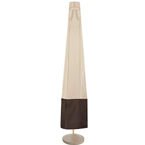 Vailge Patio Umbrella Cover,100% Waterproof Outdoor Market Parasol Umbrella Covers with Zipper and...