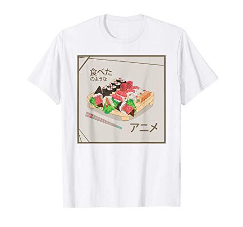 Sushi Giapponese per Otakus - Manga Sushi, Piatto Giapponese Maglietta