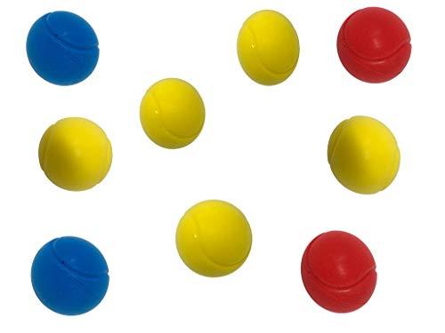 Morbido Spugna Tennis Palline - Pacco da 9 Colori Assortiti